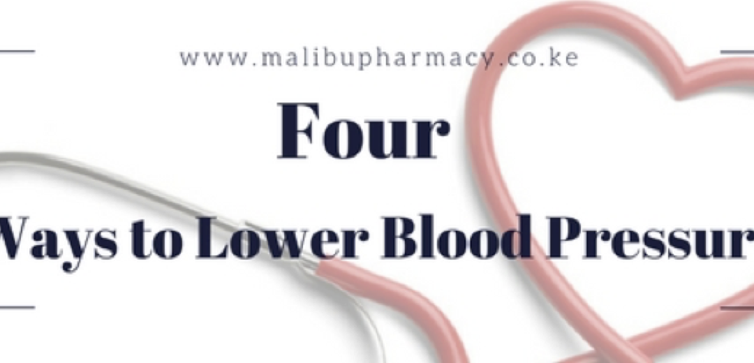 Four ways to lower blood pressure